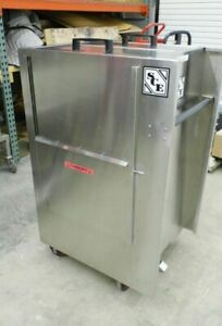 SOUTH-COAST-SCE-4050-12-SWR-STAINLESS-STEEL-12-GALLON-CHEMICAL-TRANSPORT-CART
