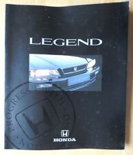 HONDA LEGEND COUPE & SALOON orig 1991 UK Mkt Large Format Sales Brochure