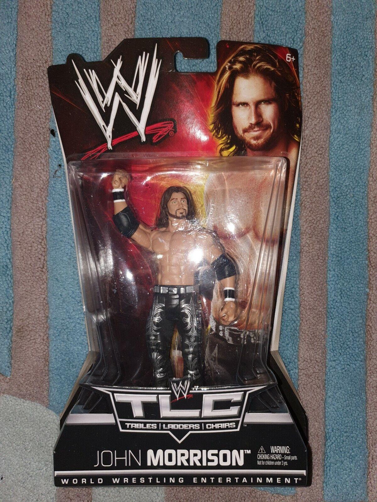 NUOVO in scatola WWE JOHN MORRISON TLC azione cifra