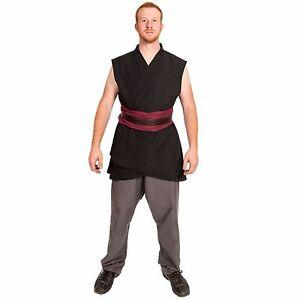 Star Wars Costume Knights of Ren Cosplay Jedi Master Custom Tunic Sith male men