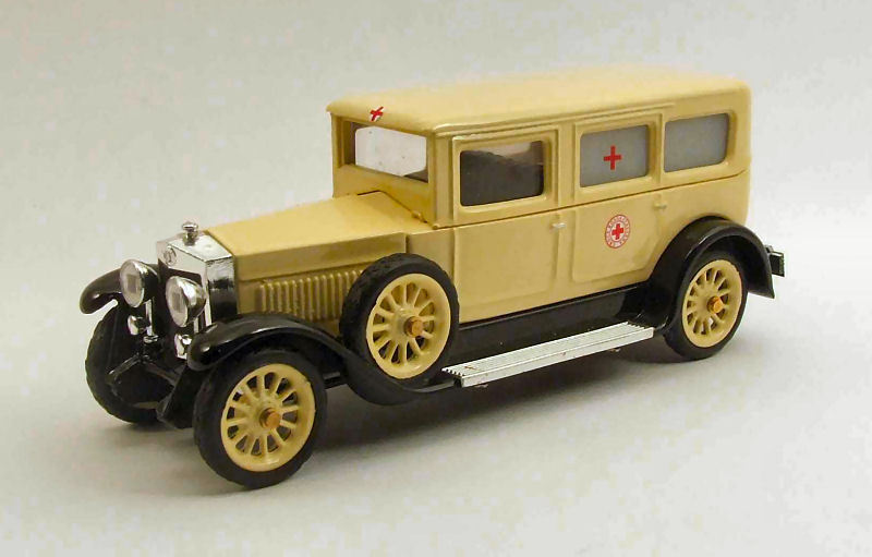 Fiat 519S Ambulance 1930 Croce Rossa Italiana 1 43 Model RIO4385 RIO