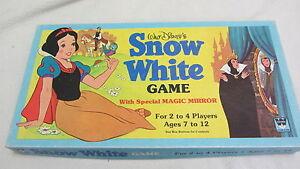 VINTAGE board game - Walt Disney's Snow White 1980 - COMPLETE SET!!