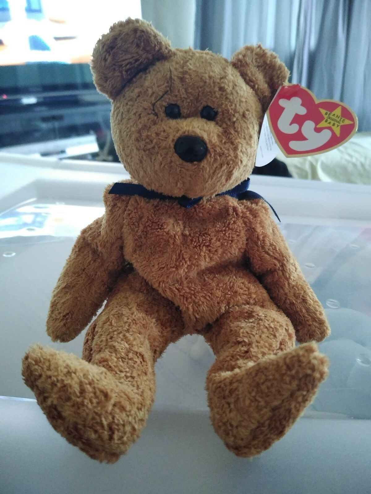 FUZZ  THE BEANIE BABY BABY BABY (COLLECTABLE) 9848d0