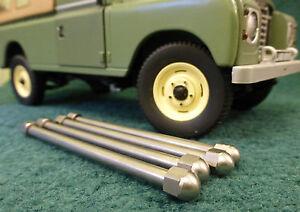 Land Rover Serie 2 2a 3 Defensor Mamparo Inoxidable ventilación Pin bisagra Set 334121
