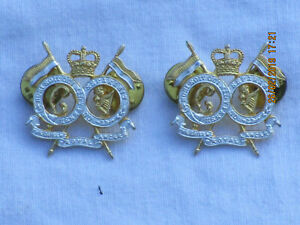 Queens-Royal-Lancers-Officer-Collar-Badges-1-Pair-Rarely