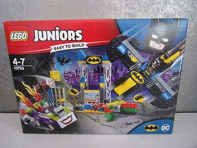 10753 Der Joker und die Bathöhle Neu /& OVP LEGO Juniors