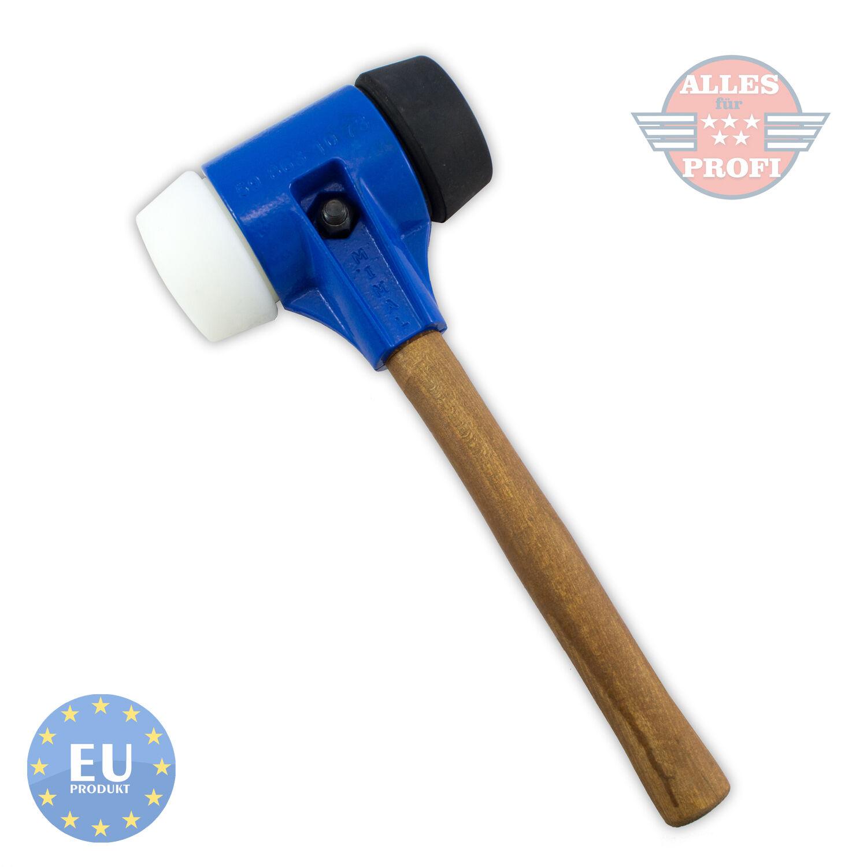 PFLASTERHAMMER PROFI HAMMER PLATTENLEGERHAMMER GUMMIHAMMER 3,2 kg (MBM06-CB)