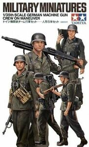 TAMIYA-GERMAN-WWII-MACHINE-GUN-CREW-Scala-1-35-Cod-35184