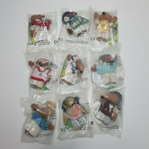 Unopened-Wombles-McDonalds-Toys-Set-of-9-Original-Happy-Meal-Toys-1999-Tomsk