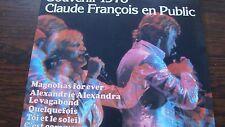 Double Disque Vinyle Claude François en Public Souvenir 1978 33T