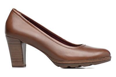 Tamaris 1 1 22425 29 305 Schuhe Damen Leder Touch it Pumps Fee cognac braun | eBay