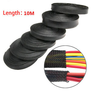 Nylon-Wire-Wrap-Cable-Organizer-Braided-Sleeve-Cord-Protector-Storage-Pipe