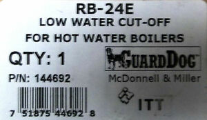 Mcdonnell Amp Miller Rb 24e Quot Guard Dog Quot Low Water Cut Off Ebay