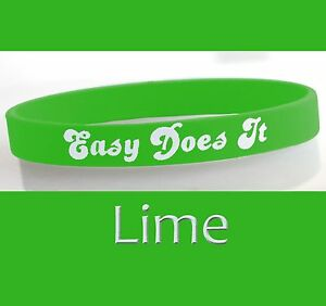 034-Easy-Does-It-034-12-Step-Recovery-Program-Silicone-Wristband-Lime