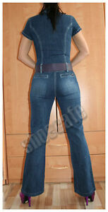 Apart-Jeansoverall-Jeanscatsuit-Kurzarm-stretch-128595-449583