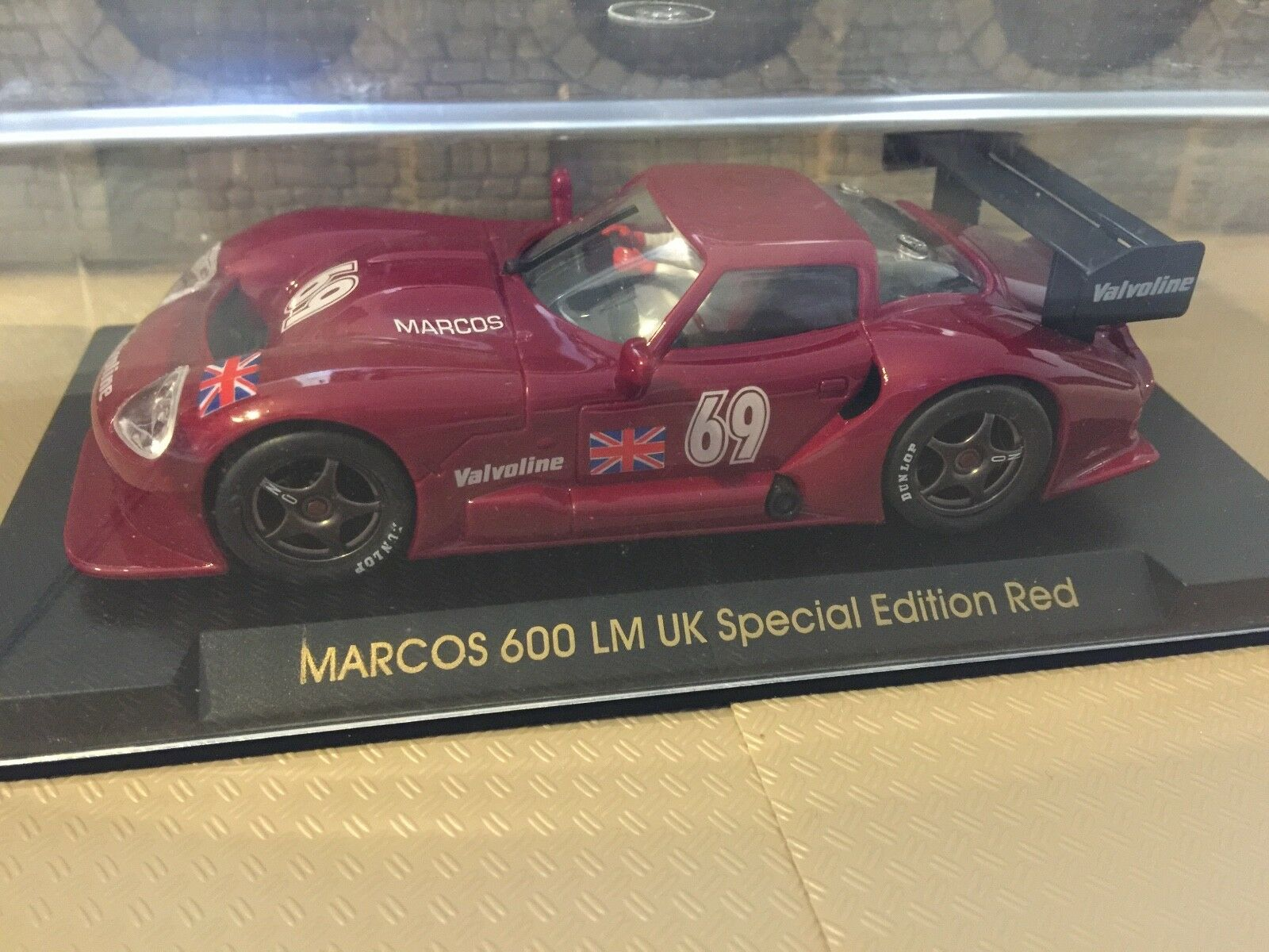 FLY Car Marcos LM UK Special Edition Red Ref. E62