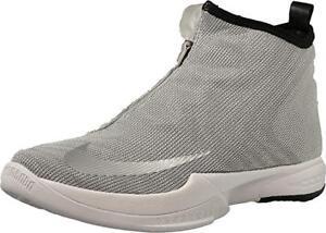 best website f3c35 4220d Image is loading NIKE-Zoom-Kobe-Icon-Sneaker-Metallic-Silver-White-