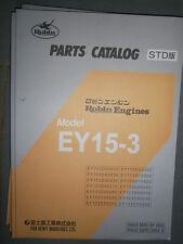 ROBIN Engines EY15-3 : Parts Catalog 08/2002
