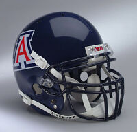 cats Football Helmet Front Nameplate Decal - Arizona Wildcats