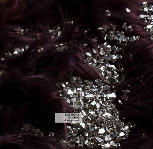Silber Spiegelgranulat versilbert 1-4 mm 450 g Streudeko Tischdeko Dekogranulat