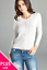Women-Long-Sleeve-Crew-Neck-Plus-size-Cardigan-Sweater-Knit-Top-1X-2X-3X thumbnail 6