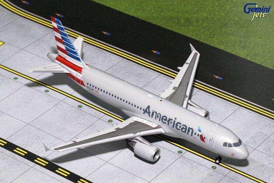 Geminijets G2aal629 1 200 Américain A320 N117uw avec Pied