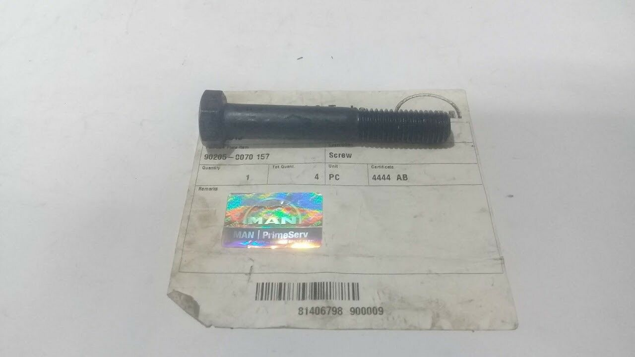 MAN Diesel & Turbo 90205-0070 157 Screw For Marine Diesel Engine Marine Store