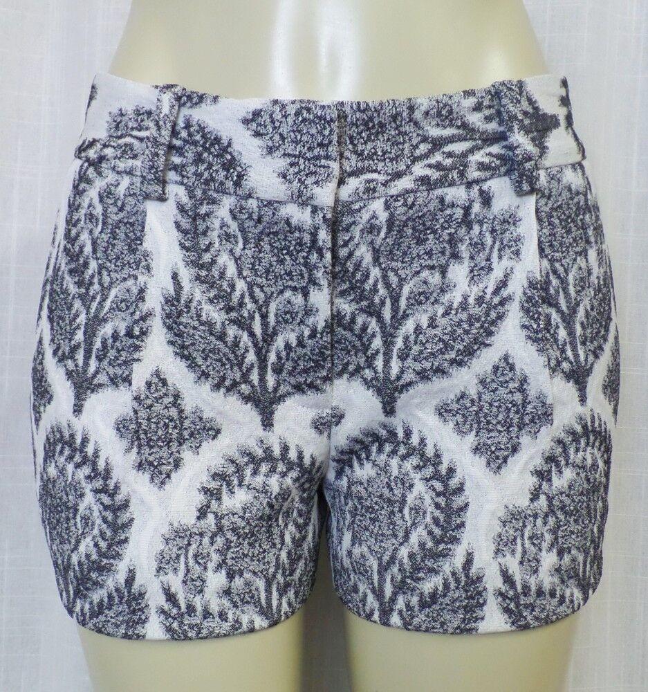 Diane von Furstenberg Naples Floral Shorts Sz. 2 DVF NWT  285