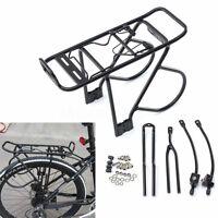 60kg V Disc Brake Bicycle Bike Alloy Rear Rack Carrier Luggage Protect Pannier