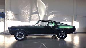 1967 Ford Mustang Fastback 2+2 351C 4V V8 Highland Green Bullitt Steve Mcqueen
