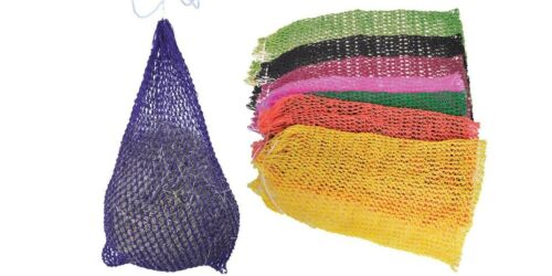 """Partrade Ultra Slow Feeder Hay Net 1/"""" x 1/"""" Openings 5-6 Flakes Lime Green"""