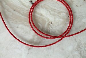 Handmade-Simply-Rouge-Single-Strand-African-Waist-beads-Belly-Beads