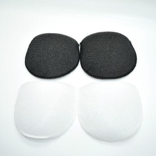 High Quality Shoulder Pads Cushions ✄ White /& Black ✄ Medium ✄ Multi-Packs ✄ B14