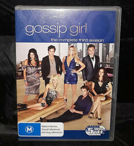 Gossip-Girl-Third-3-Season-DVD-2010-5-Disc-Set-Region-4