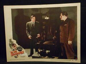 The-Hoodlum-1951-Lobby-Card-8-fine-Film-Noir-Electric-Chair-Lawrence-Tierney