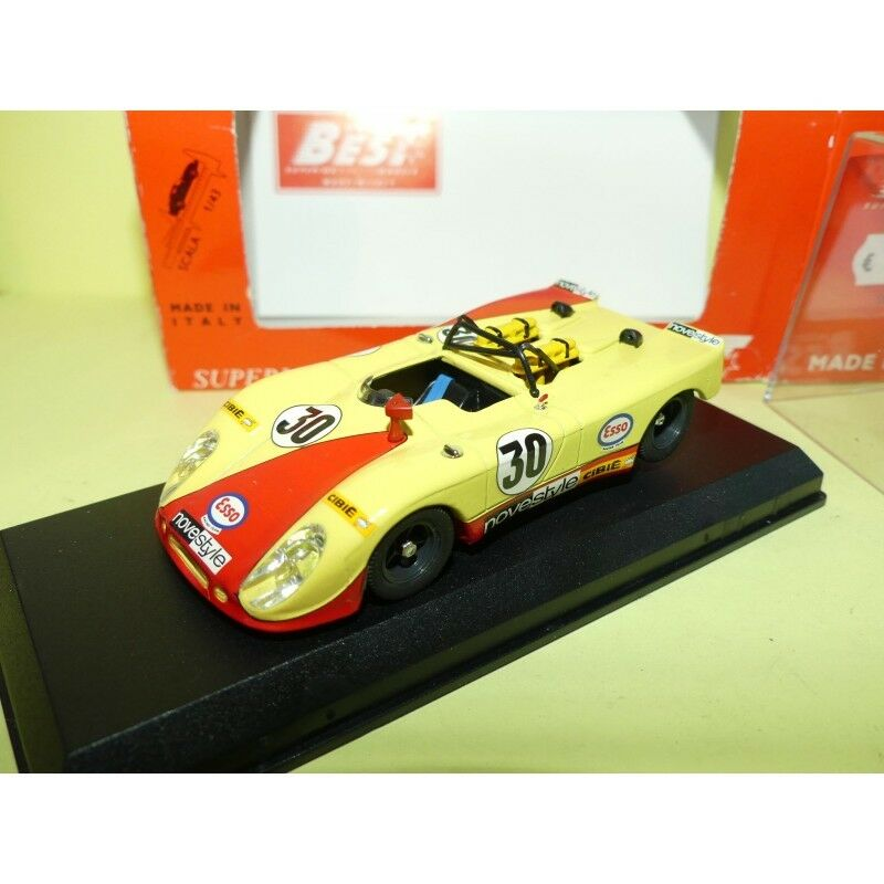 PORSCHE FLUNDER 908 2 N°30 LE MANS 1971 BEST 9150 1 43 Abd
