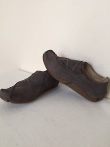Clarks On 5 Gray Fabulous cosidos Mocasines Free Slip Air Active Mocasines rfrqt4wTx