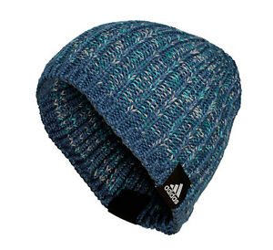 93eaba284 Details about Hat Adidas Boulder Beanie M, Sizes for Children and Adults,  Blue
