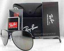 Ray-Ban Aviator Carbon Polarized Sunglasses Rb8313