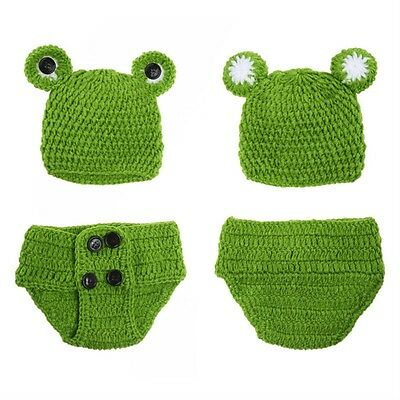 Bébé lapin Cap Pantalon Crochet Costume Garçons Filles Prop photo photographie