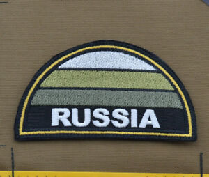 Ricamata-Embroidered-Patch-034-Semicirc-Sub-Russia-Flag-034-with-VELCRO-brand-hook