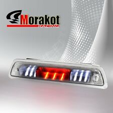 Chrome Clear 09-14 Ford F150 Third 3rd Brake light LED Signal Stop Lamp Car Unit