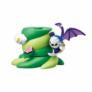 Re-ment Kirby TREE IN DREAMS Stacking Figure - Metaknight /Ship in Cardboad Box!