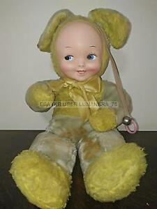 VINTAGE DOLL *GUND CREATION BUNNY EASTER BABY DOLL* 1940/50s - Italia - VINTAGE DOLL *GUND CREATION BUNNY EASTER BABY DOLL* 1940/50s - Italia