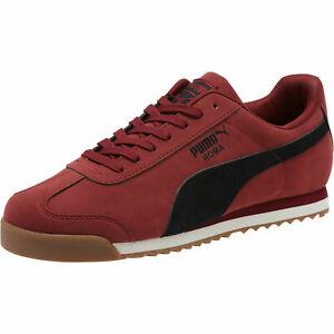 puma mens roma smooth nbk casual shoes 36845503  ebay