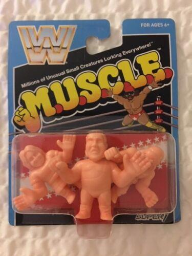 M.U.S.C.L.E WWF WWE Mattel Retro Figures Andre Macho Man Piper MOC Super7 SDCC