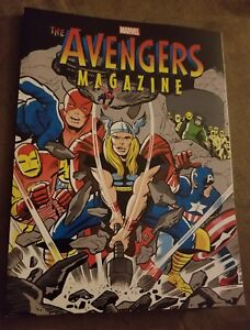New-amp-Unread-Marvel-Comics-Avengers-Magazine-Special-Ed-W-King-Jack-Kirby-Cover