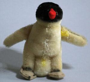 Original Steiff Peggy Penguin #4314.07 with Raised Silverscript Button
