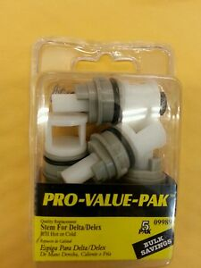 Delta Faucet Cartridges 3s 2h C Box 5 No Rp1740 Ebay