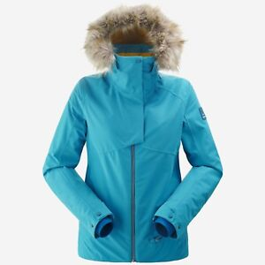 Details about Eider the Rocks 2.0 Jacket Women Lined Ladies Ski Jacket Winter Blue